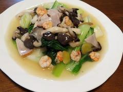 海鮮青梗菜炒め.JPG